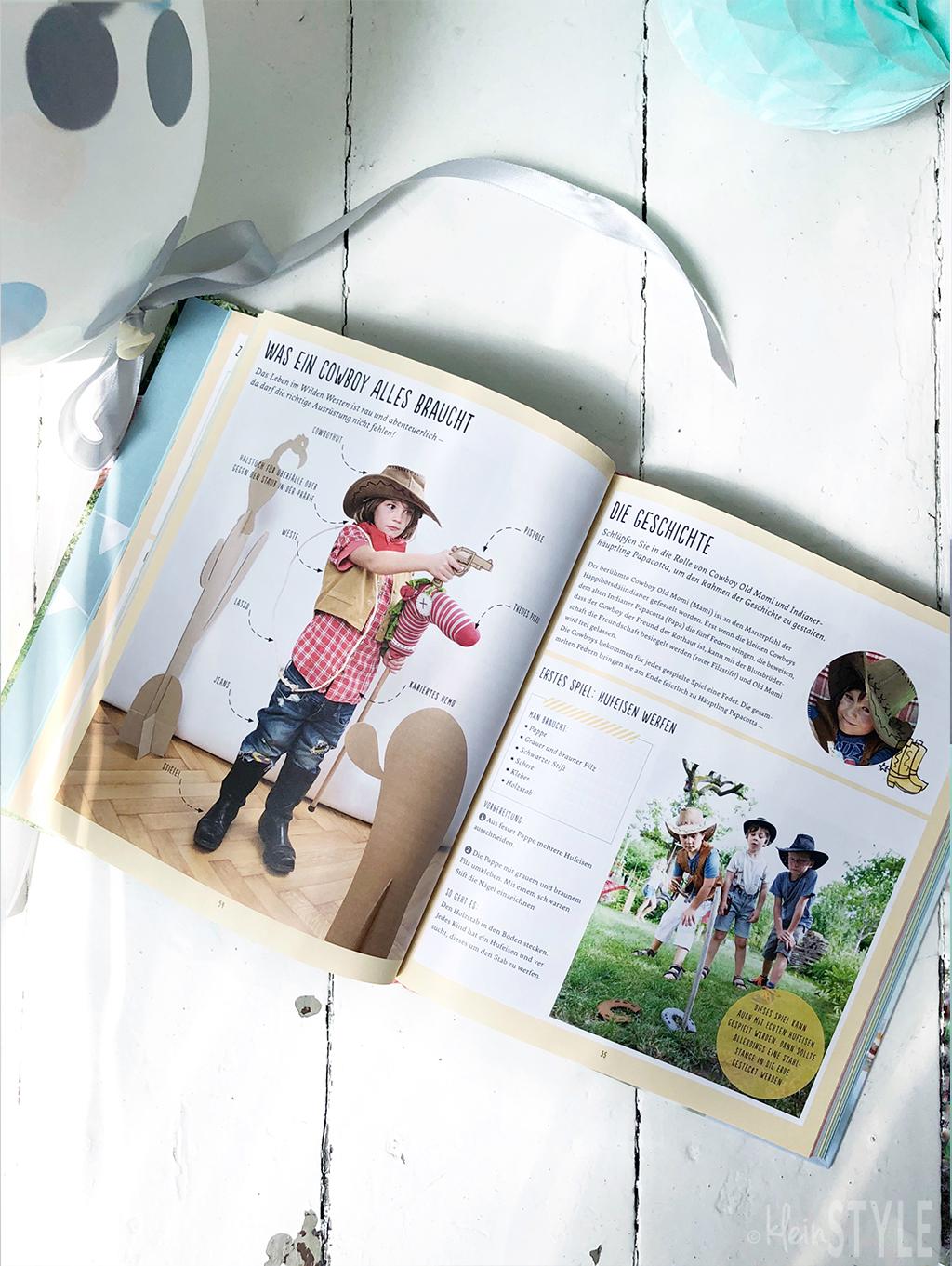 Geburtstagszeit Kinder motto Party Buch tipp by kleinSTYLE.com