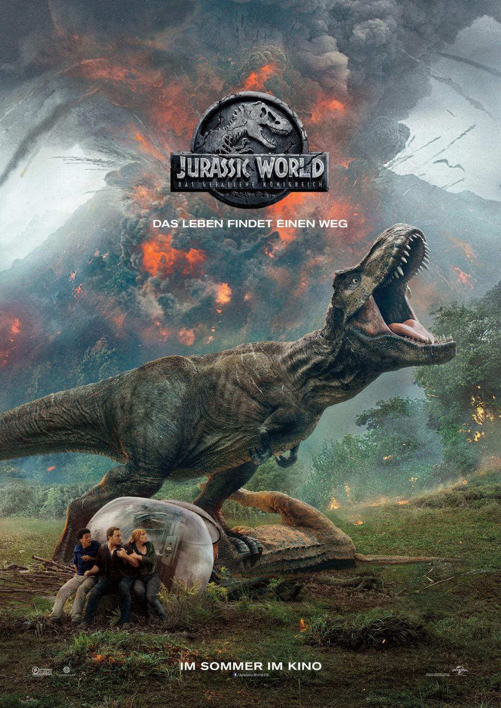 Jurassic World das gefallene koenigreich Filmplakat Universal Pictures