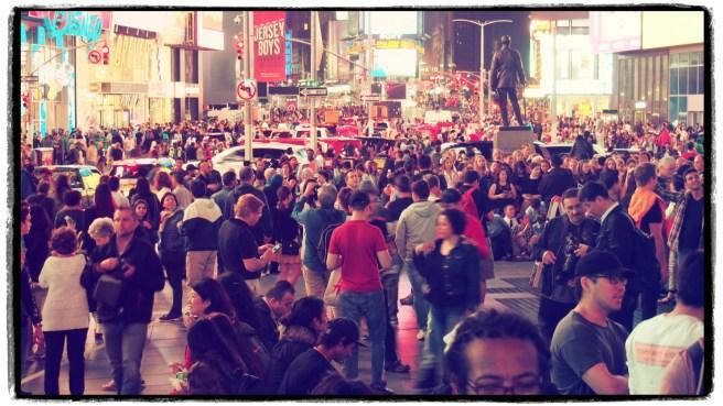 Time Square - mitten in der Nacht