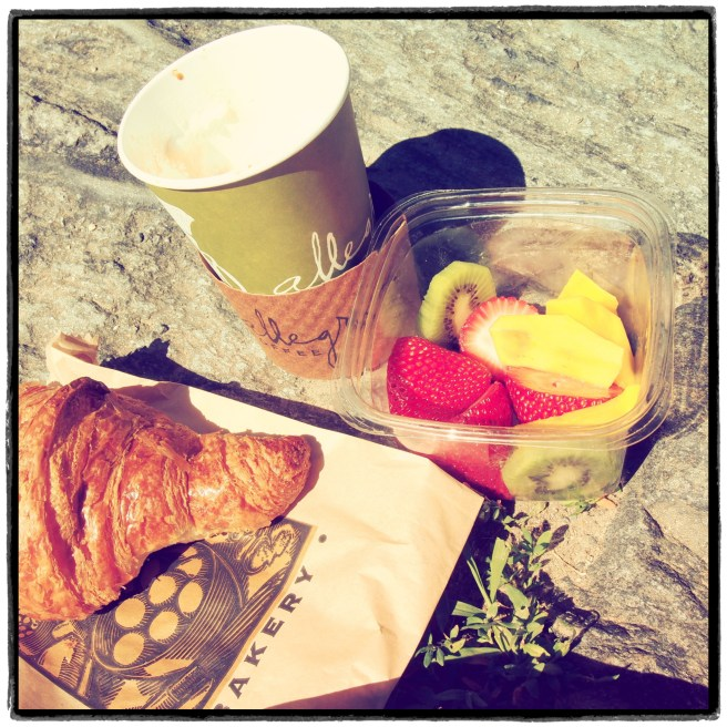 Frühstück im Central Park