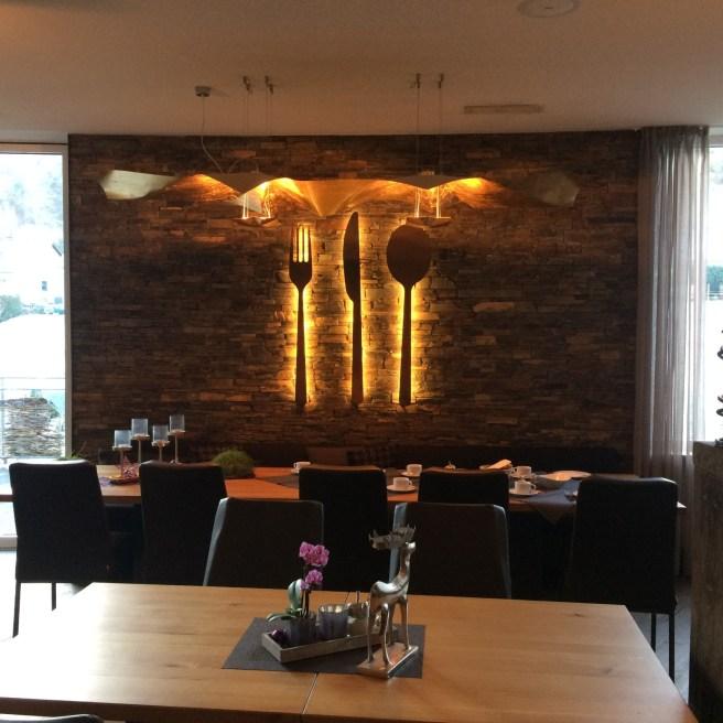 So sieht's im Restaurant aus.