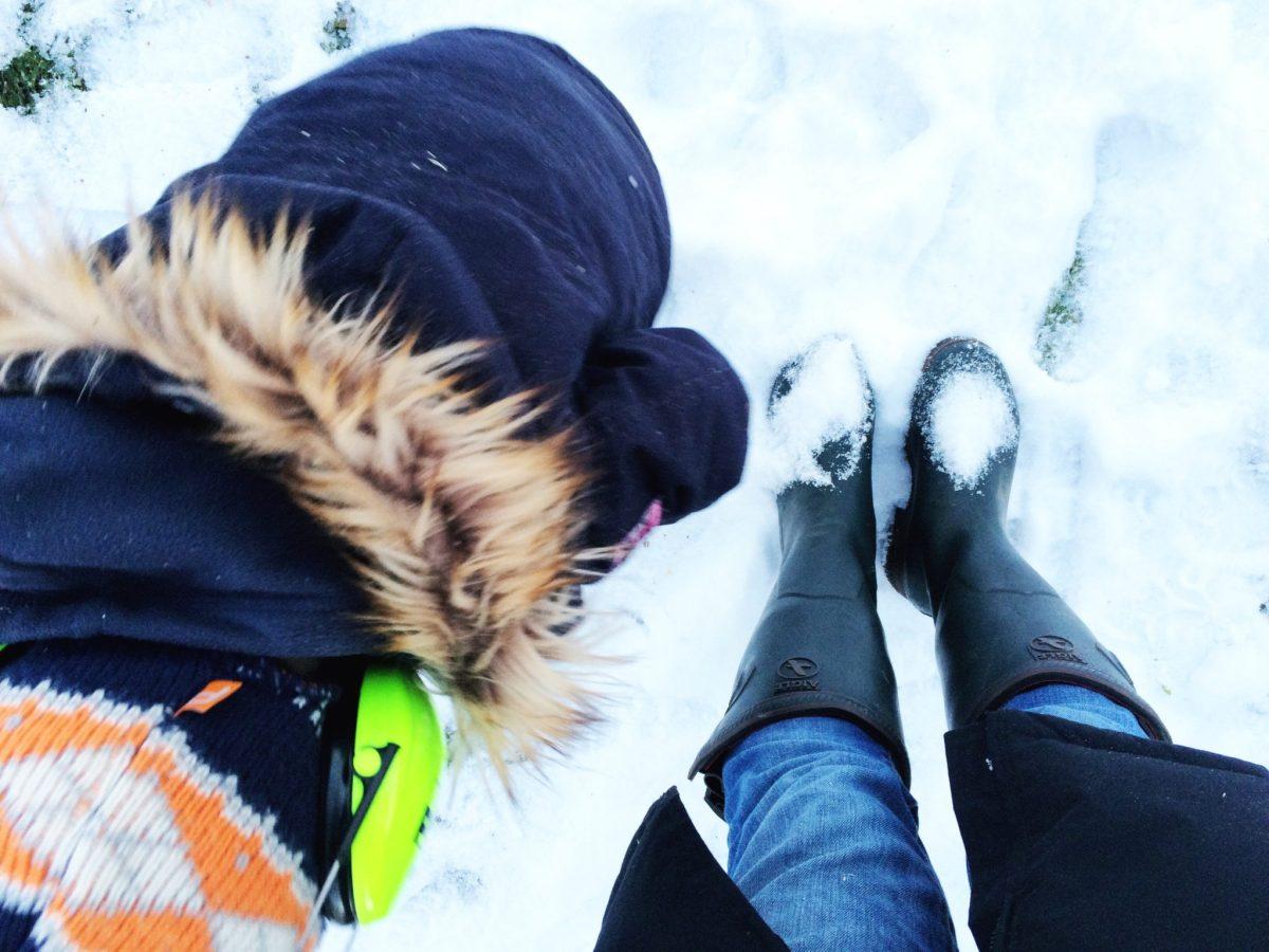Gummistiefel mit Neopren - mein Winter-Must-Have