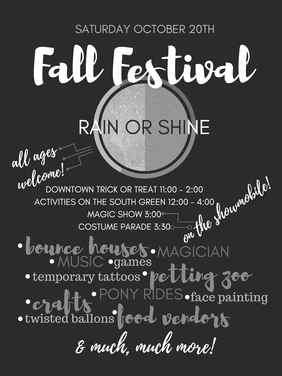 fall festival poster 2018