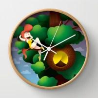KLELAND- ILLUSTRATION -clock