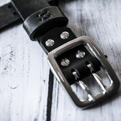 Кожаный ремень ручной работы Klens