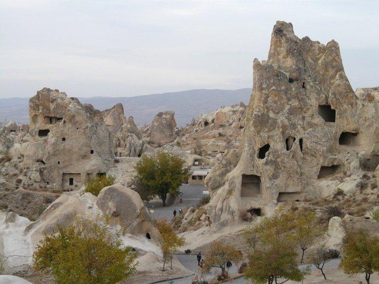 Vista do Museu de Goreme - Capadócia