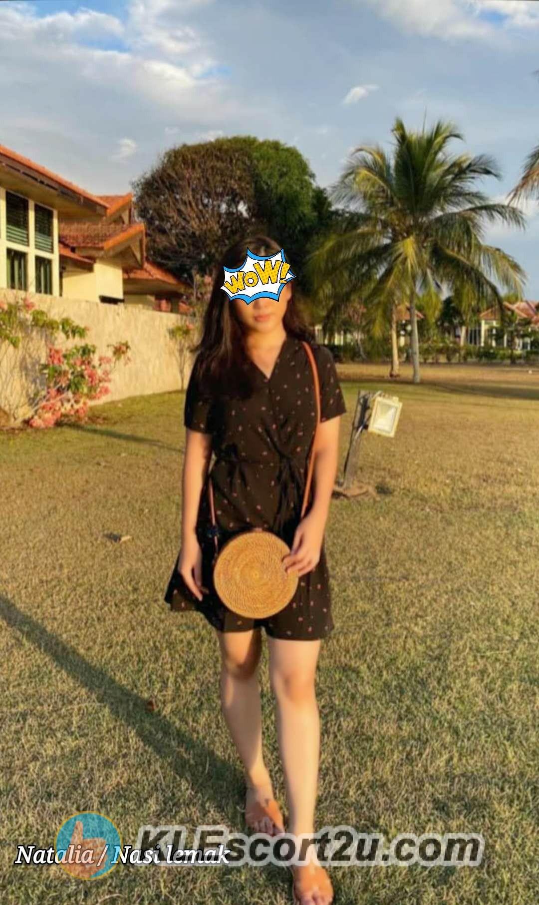 malay girl in black dress