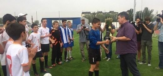 В Волгоградской области наградили победителей всероссийского финала футбольного турнира «Колосок»