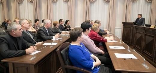 Андрей Бочаров провел рабочую встречу с главами сельских поселений