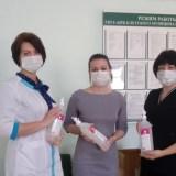 «ЕДИНАЯ РОССИЯ» предоставила  медицинским учреждениям  средства дезинфекции