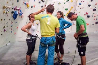 Klettern Indoor Mental