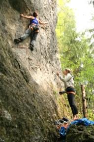 Fränkische klettern outdoor