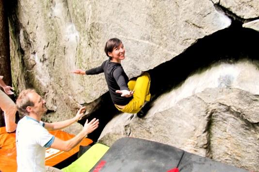 Zillertal outdoor bouldern