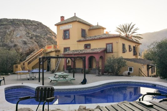 costa blanca Orange house