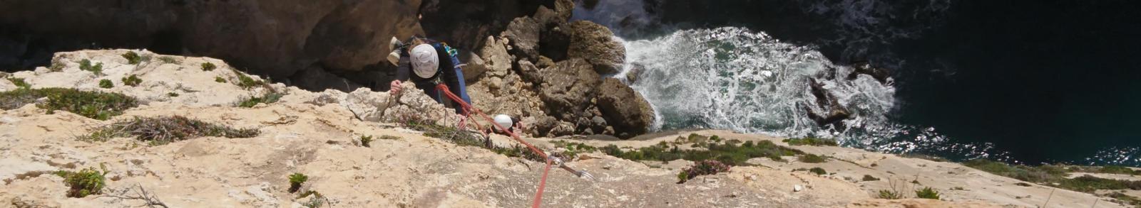 Mehrseillängen klettern
