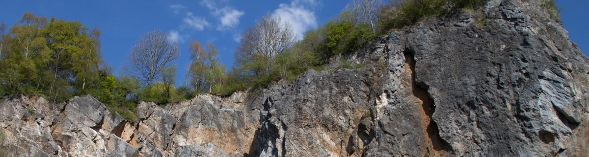 Klettergebiet Hillenberg Warstein, Klettern