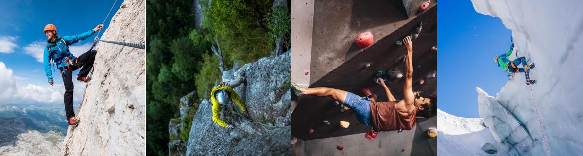 Kletterarten - welche gibt es und was zeichnet sie aus | Klettertrip.de