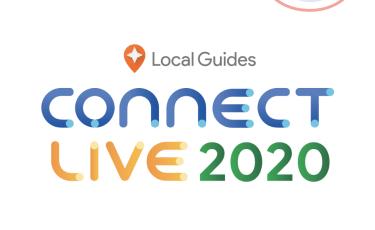 ローカルガイド コネクトライブ 2020に応募