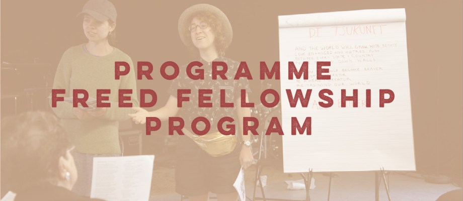 The Ruth and Joe Freed Fellowship Program