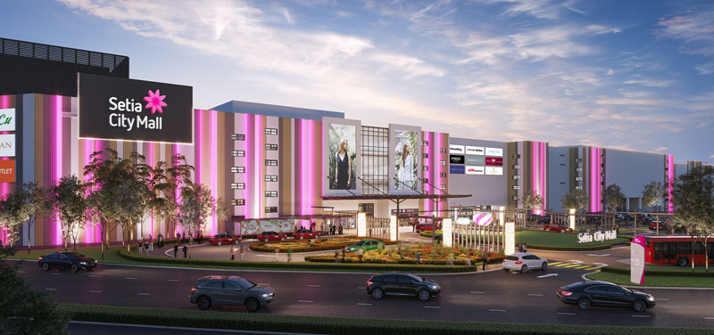 setia city mall expansion