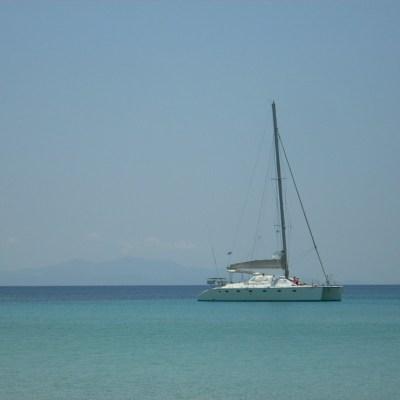 Catamaran Family Sailing Trip from Mykonos
