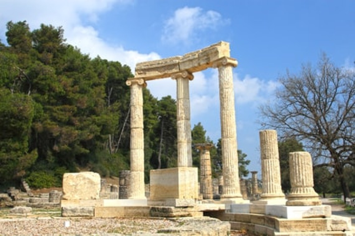 Olympia mythological family road trip in Greece kids love greece