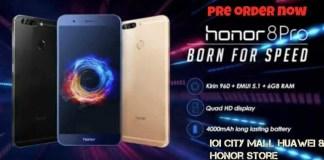 honor8 pro preorder