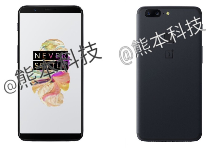 OnePlus 5T Leaked Render Hints At Bezel-Less Display