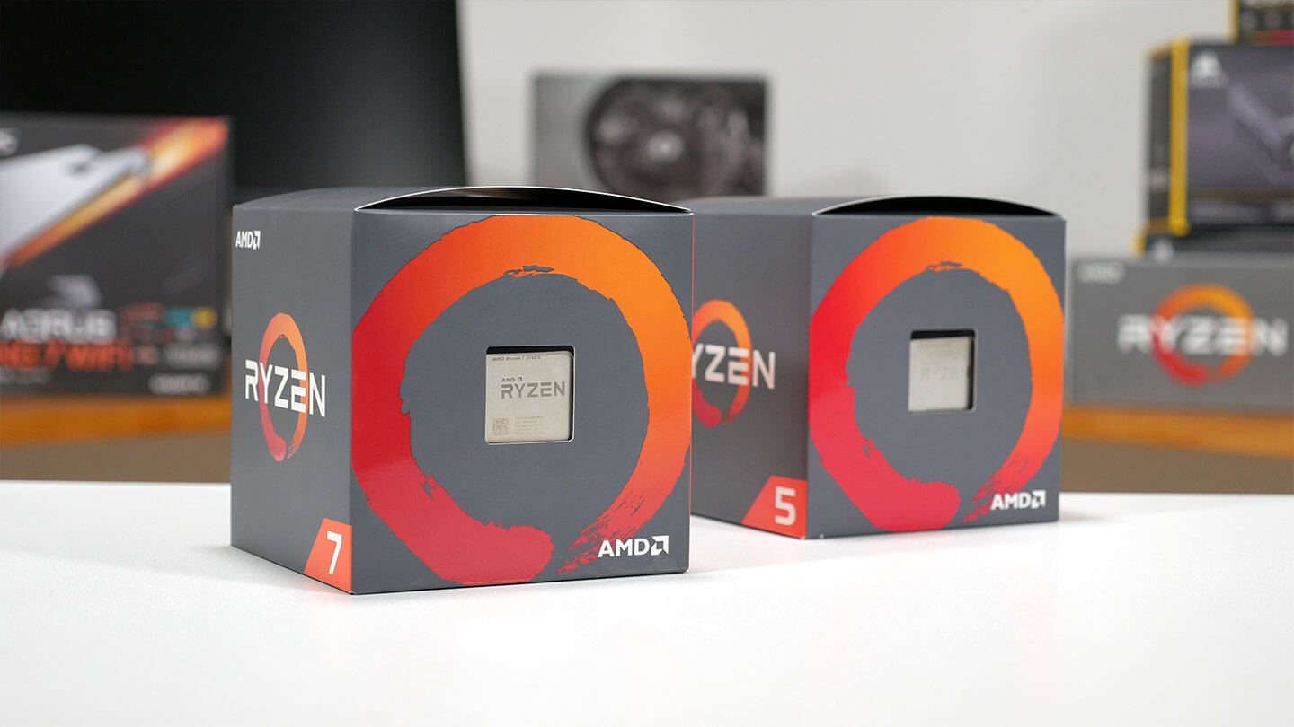 New AMD 2nd Generation Ryzen 7 & 5 CPUs, Price & Pre-Orders