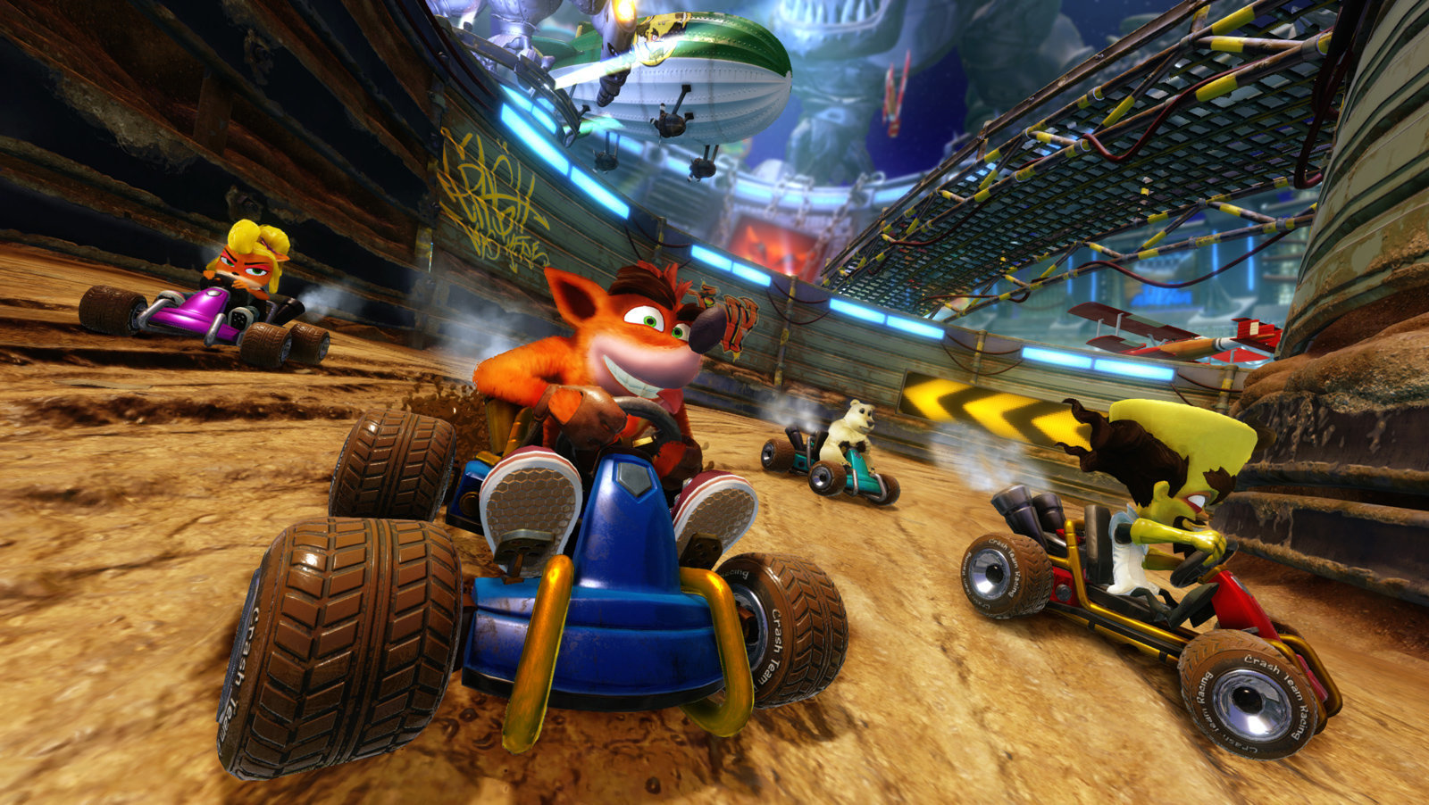 'Crash Team Racing: Nitro Fueled' Confirmed, Coming In June 2019