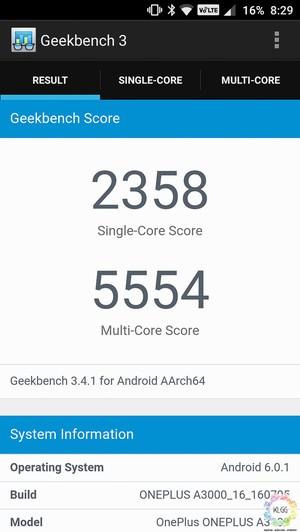 oneplus3 benchmark
