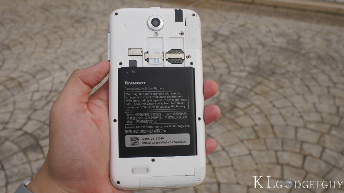 Lenovo A850 Review
