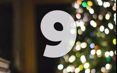 Julkalender lucka 9: Håll reda på fötterna