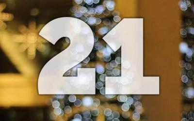 Julkalender lucka 21: Promenadträning FTW