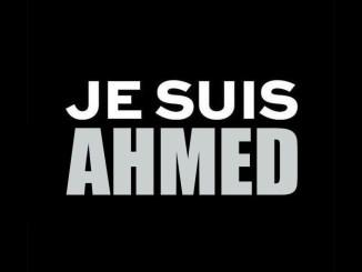 #jesuisahmed Hashtag auf Twitter zum Attentat von Paris
