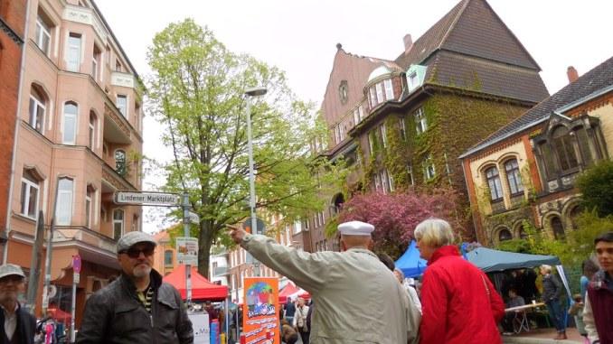 900 Jahre Linden, Fest auf dem Marktplatz