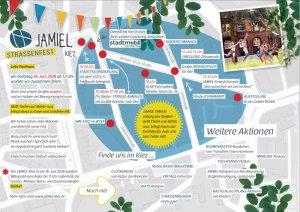 Jamiel Kiez Straßenfest 16.06.2018 Veranstaltungen und Lageplan