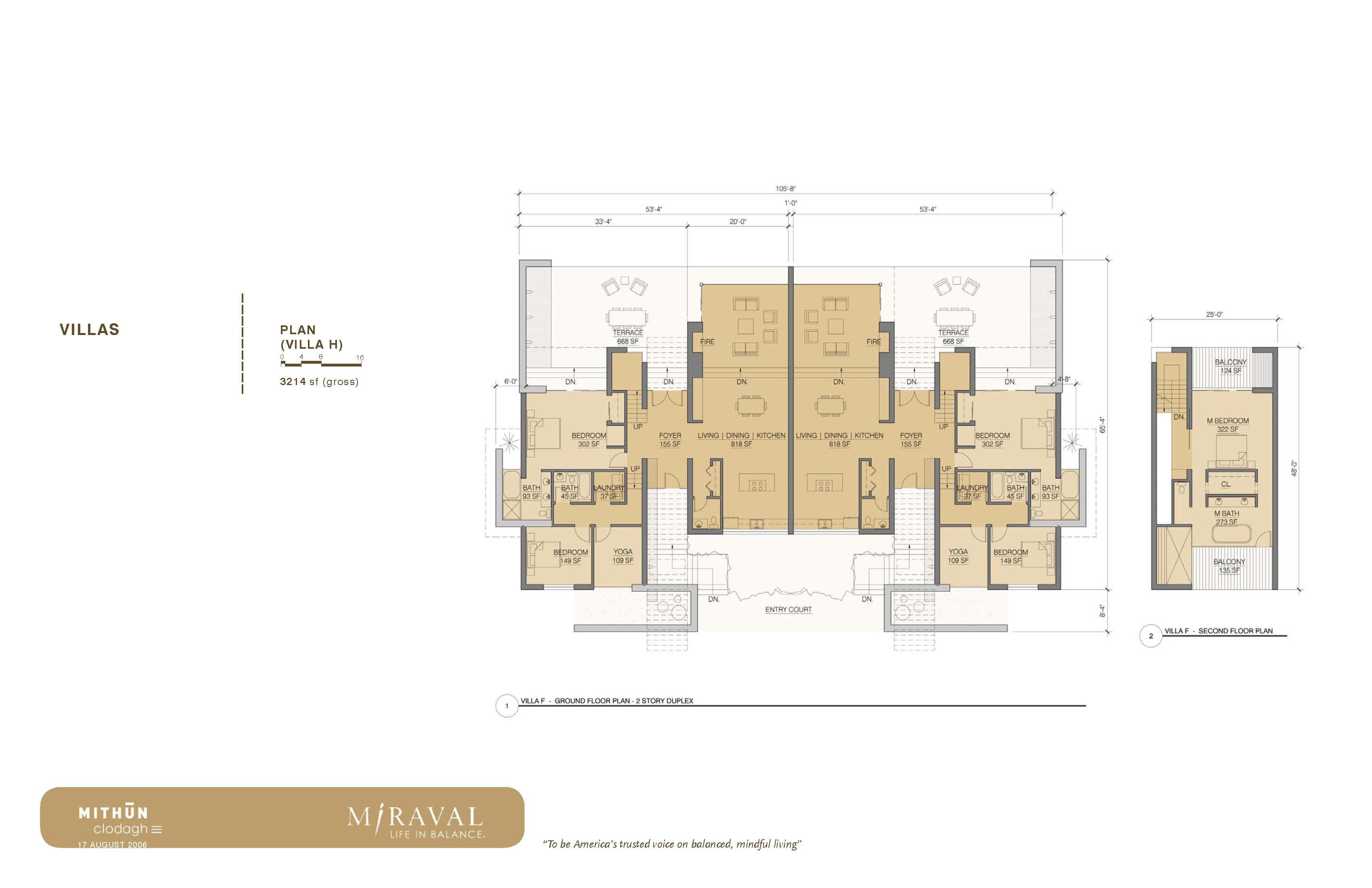 Miraval Villa Floor Plan Kli Companies Real Estate