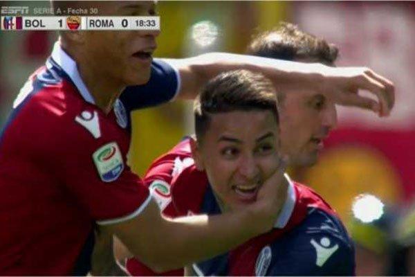 Laporan Pertandingan Sepakbola Liga Italia Bologna VS AS Roma