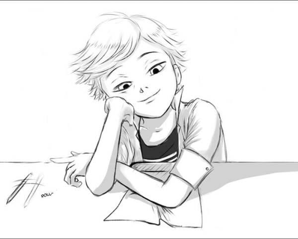 Картинки Леди Баг и Супер Кот для срисовки (30 рисунков ...
