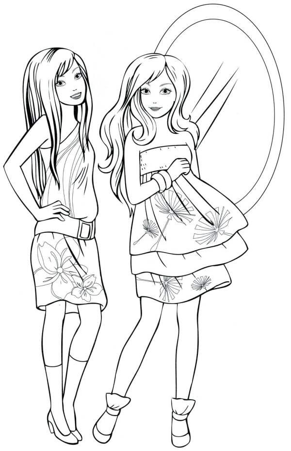 Картинки для девочек 10 лет для срисовки (30 рисунков ...