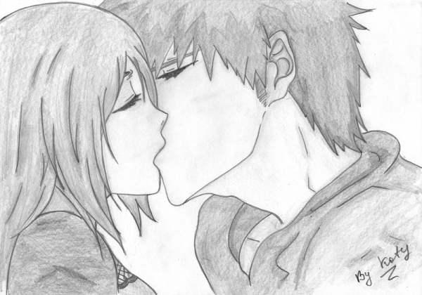 Картинки аниме для срисовки карандашом (70 рисунков)