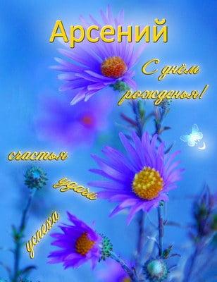 Прикольные картинки С Днем Рождения Арсений (27 открыток ...