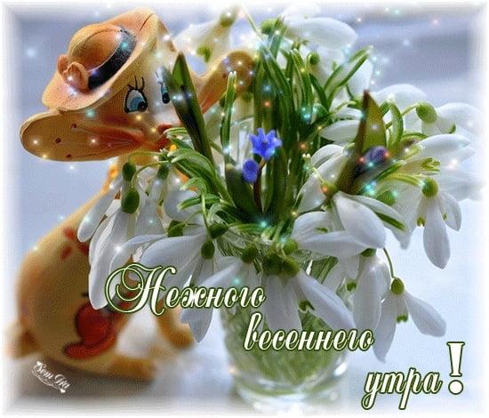 Красивые картинки Доброе весеннее утро (40 открыток ...