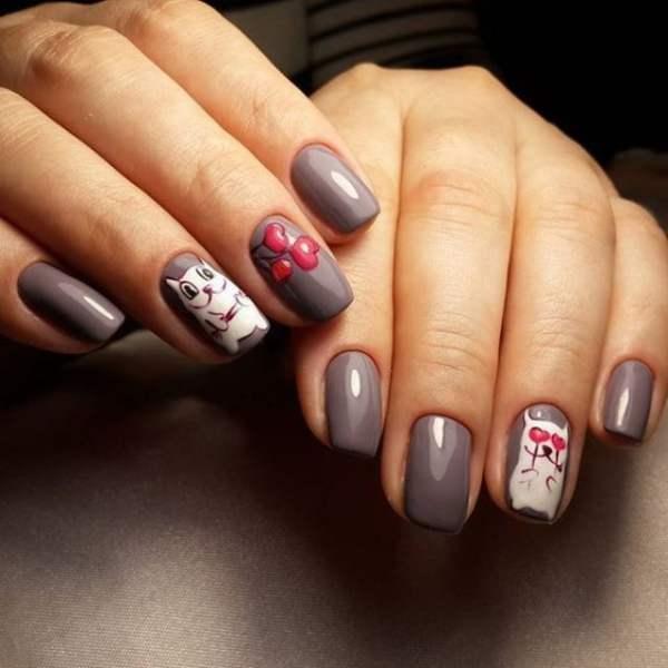 Накрашенные ногти - прикольные картинки (30 фото ...