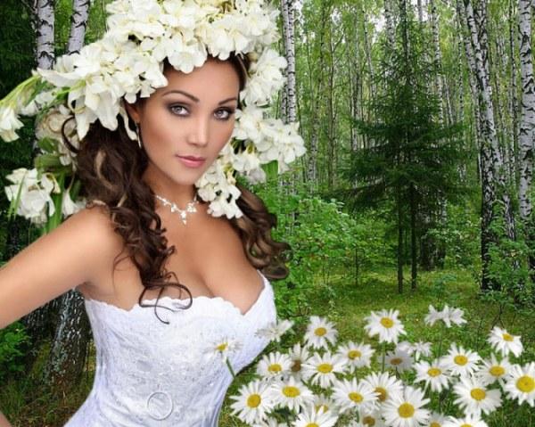 Женщина весна - красивые картинки (37 фото) • Прикольные ...