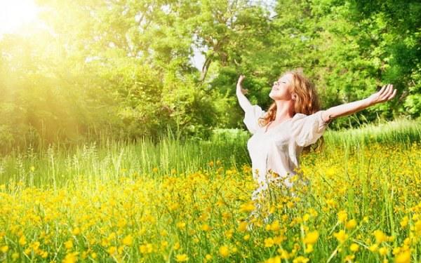 Женщина весна - красивые картинки (37 фото)
