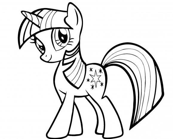 Рисунки пони для срисовки (37 фото) • Прикольные картинки ...