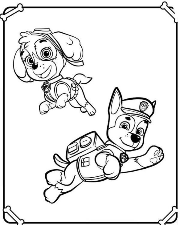 Рисунки Щенячий патруль для срисовки (40 фото ...