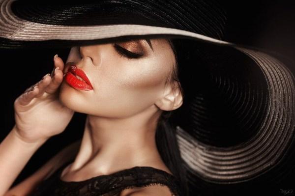Картинки девушки в шляпе (30 фото) • Прикольные картинки и ...